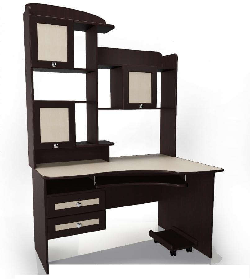 Угловой компьютерный стол мебелайн-18. бесплатная доставка..